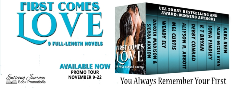 First Comes Love Anthology Banner
