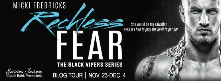 Reckless Fear Blog Tour Banner