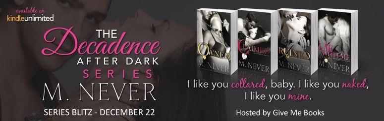 decadence after dark series sb banner