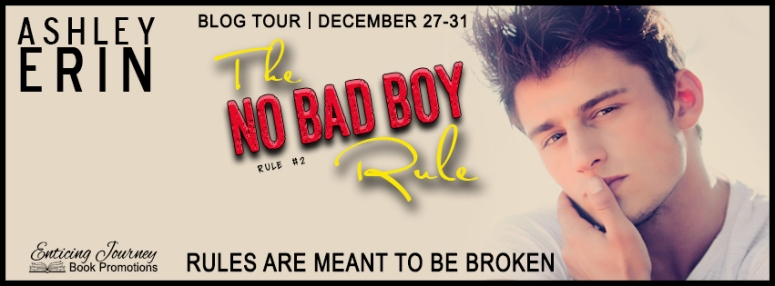 The No Bad Boy Rule Blog Tour Banner