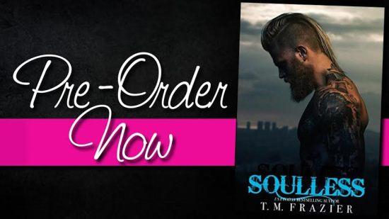 soulless preorder banner